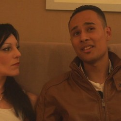 Carla y Jonathan,el casting de la madura y el latino